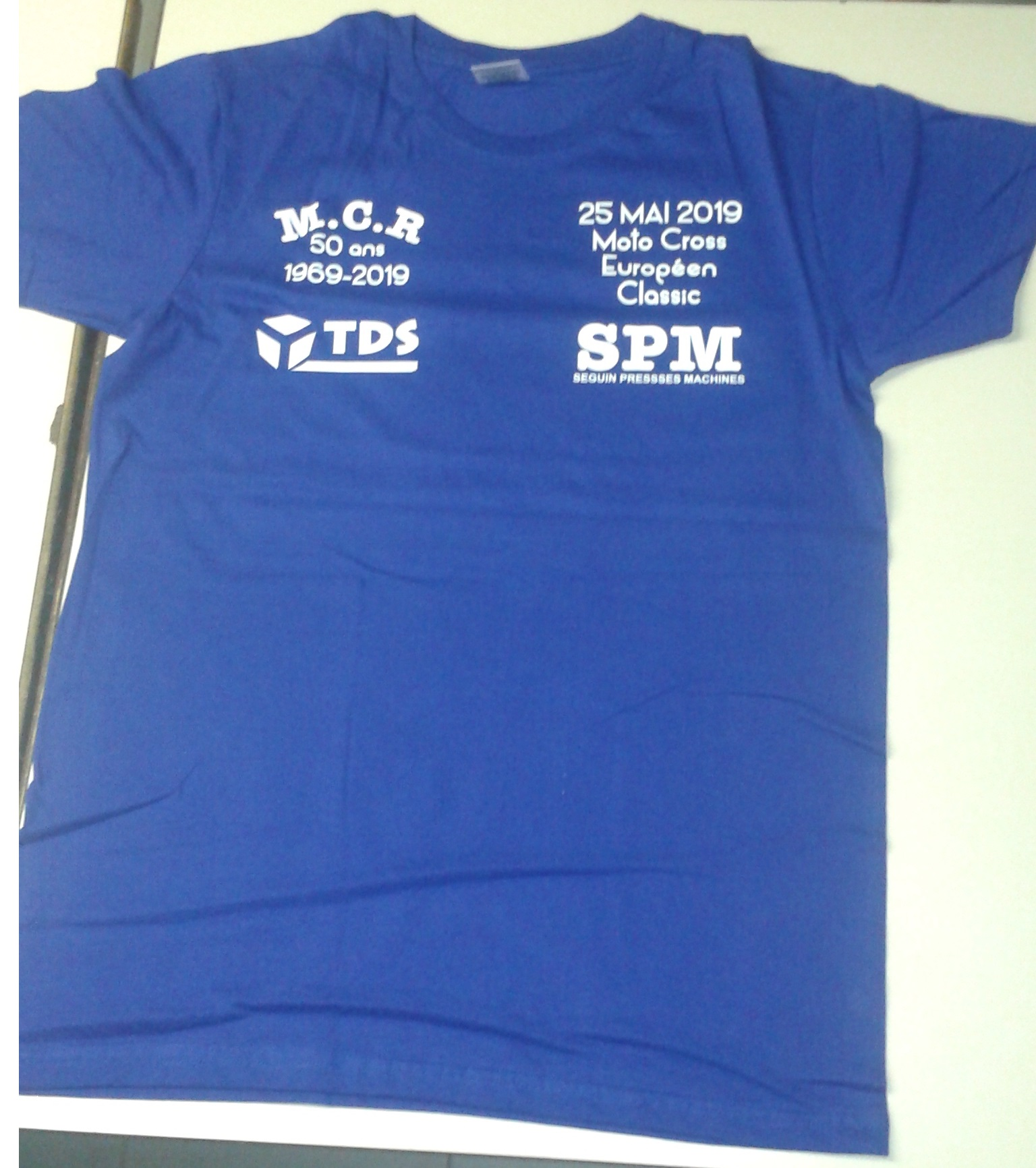 T-shirt du MCR